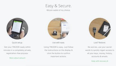Bitcoin Trezor - The Hardware Bitcoin Wallet | Product Hunt