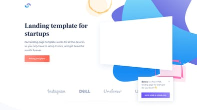 Cruip - Free landing page templates for startups | Product Hunt