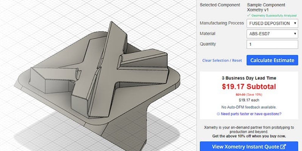 Xometry Add-in for Autodesk Fusion 360 - Instant pricing, lead times, and DFM in Autodesk Fusion 360 | Product Hunt