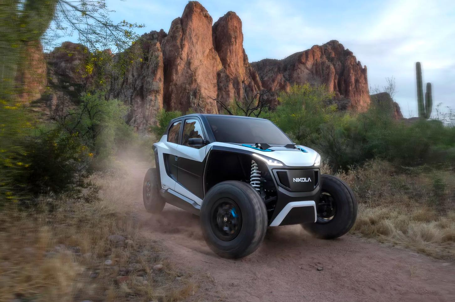 Nikola NZT - A brand new off-road electric vehicle from Nikola ⚡️