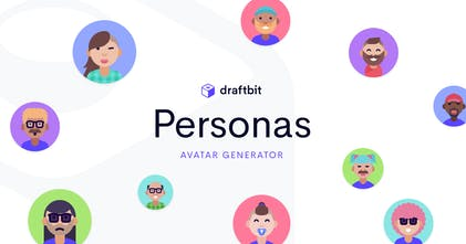 Personas By Draftbit A Playful Avatar Generator For The Modern Age Product Hunt