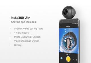 Insta360 Air - Turn your Android smartphone into a 360° VR