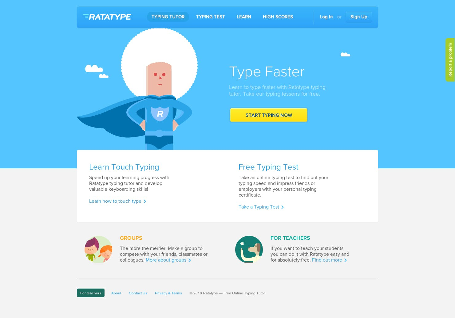 Ratatype Free Online Typing Tutor Product Hunt