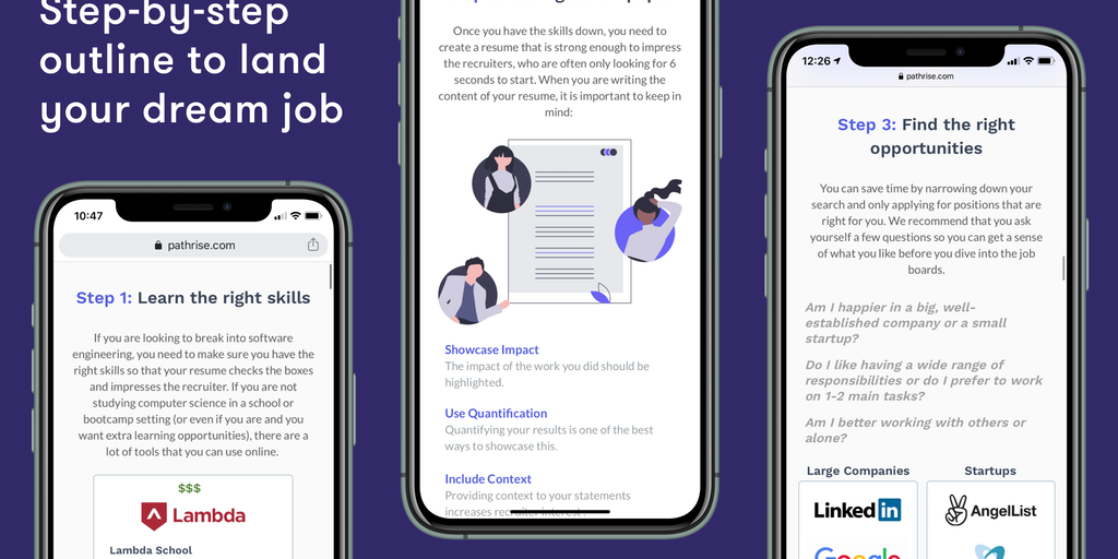 How to get a job in tech - Step-by-step guides to nail your job search | Product Hunt