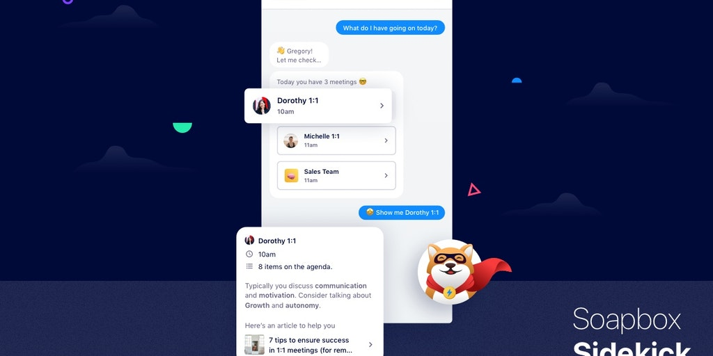 AI Meeting Assistant by SoapBox - Your team's sidekick to help have more productive meetings | Product Hunt