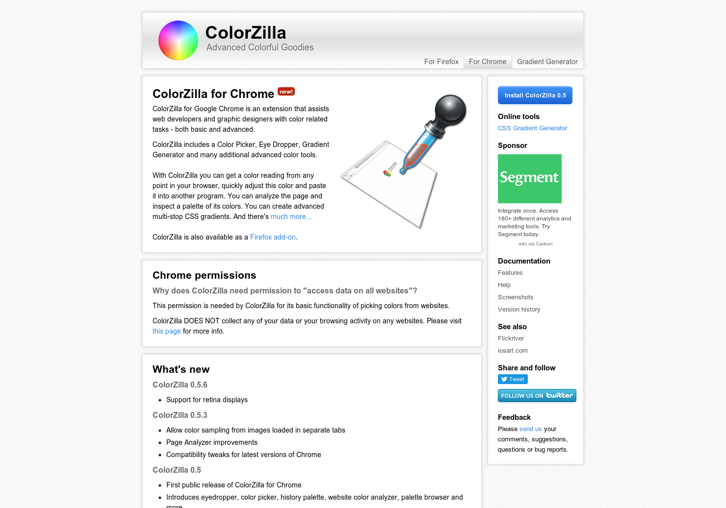 ColorZilla - An eyedropper for your browser | Product Hunt