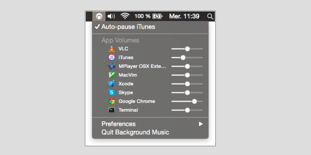 Background Music - Control the audio on your Mac apps from