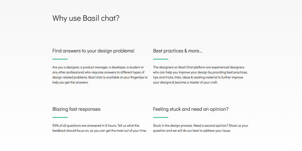 Basil Chat Design Feedback Via Chat Product Hunt