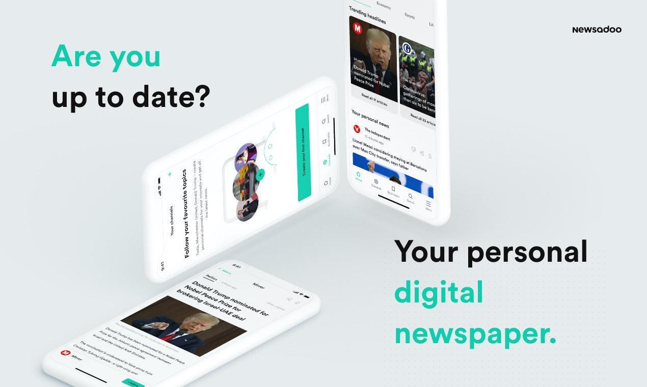 Newsadoo Product Hunt Image