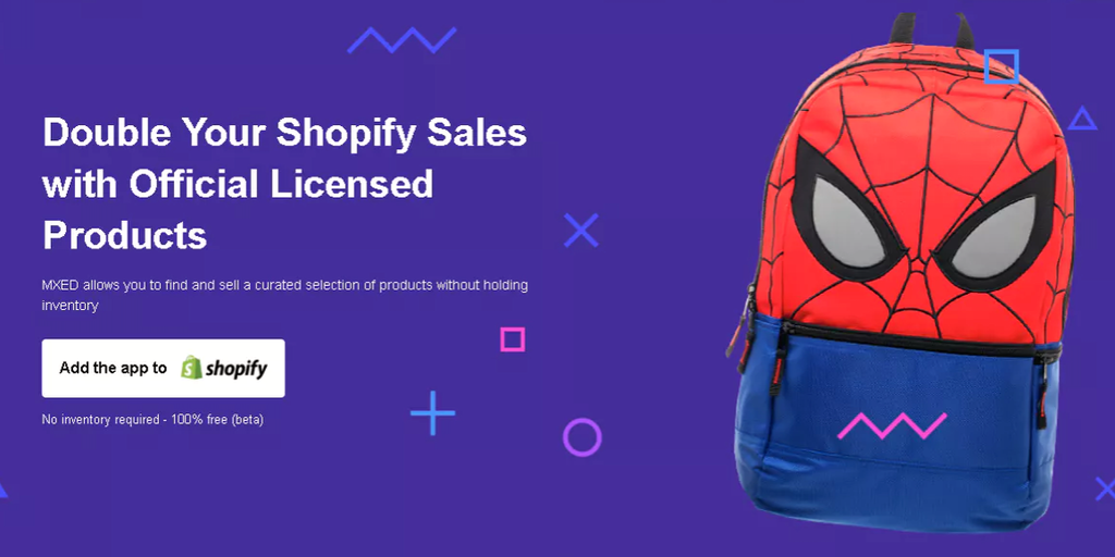 MXED - Sell official pop culture merchandise on Shopify