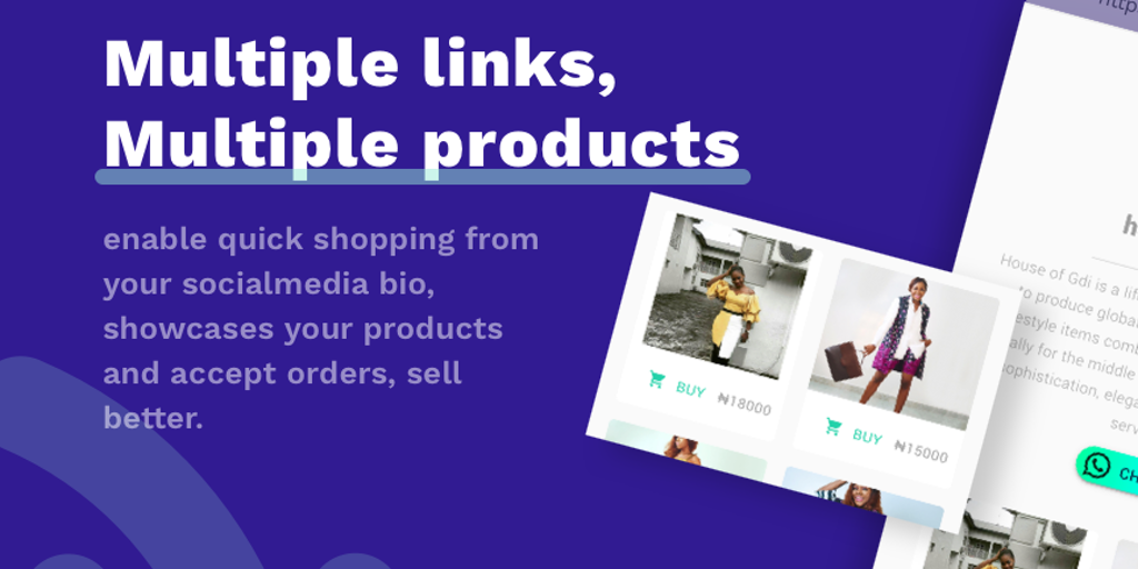 mulaa - Sell products directly from your bio link, with analytics | Product Hunt