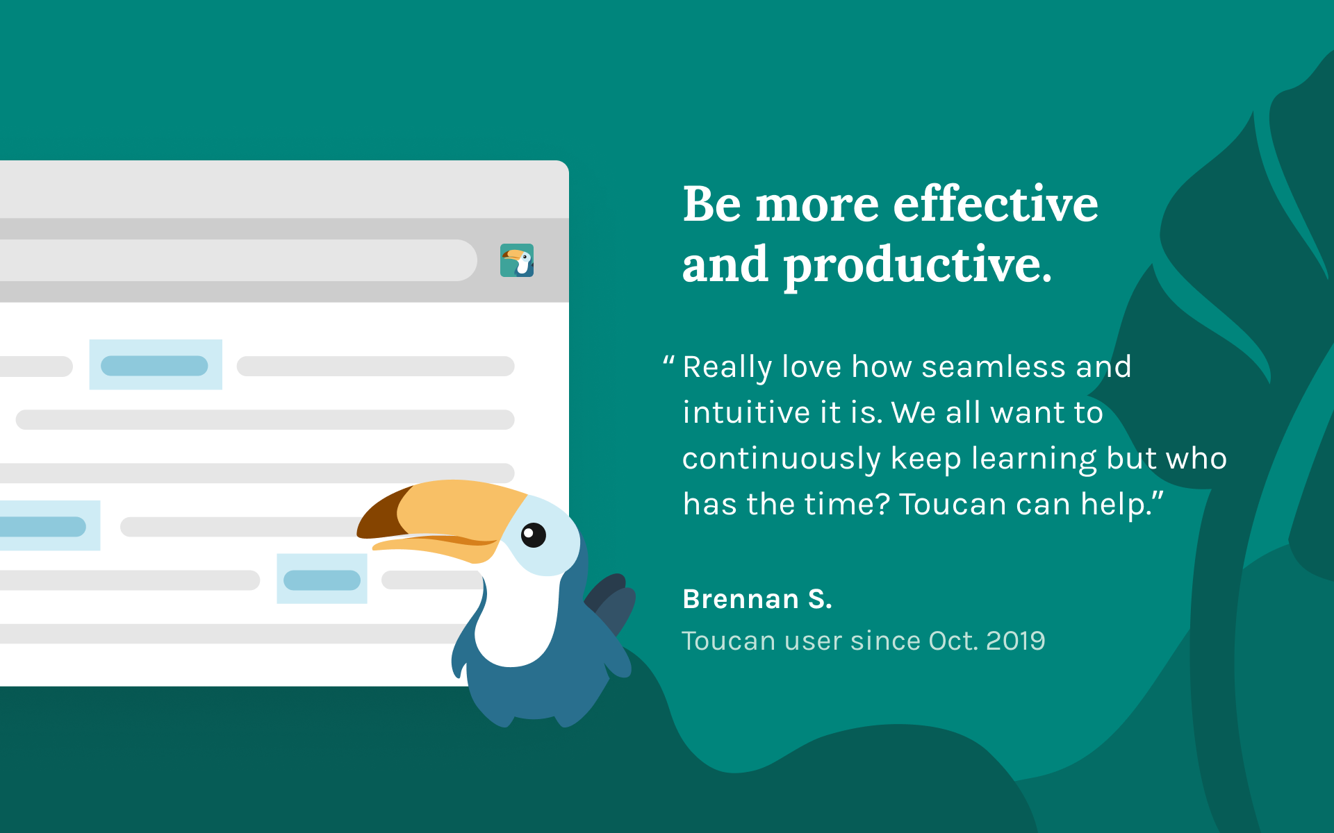 Toucan Product Hunt Image