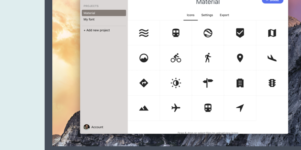 Webfont - Easily create and maintain custom SVG icon fonts | Product Hunt