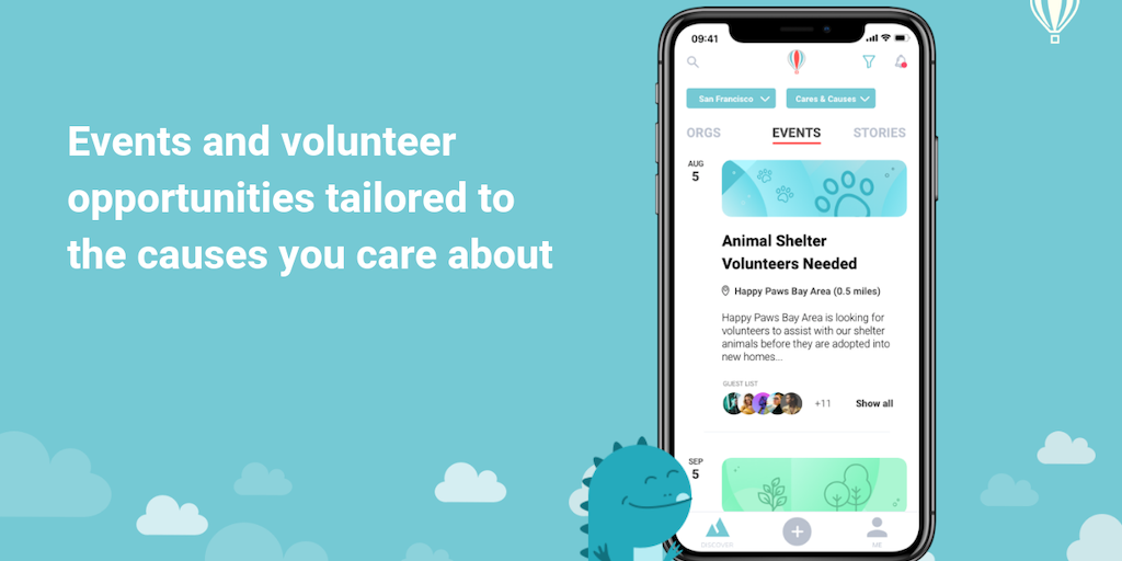 DiveIn - Volunteering and supporting local nonprofits made easy   Product Hunt