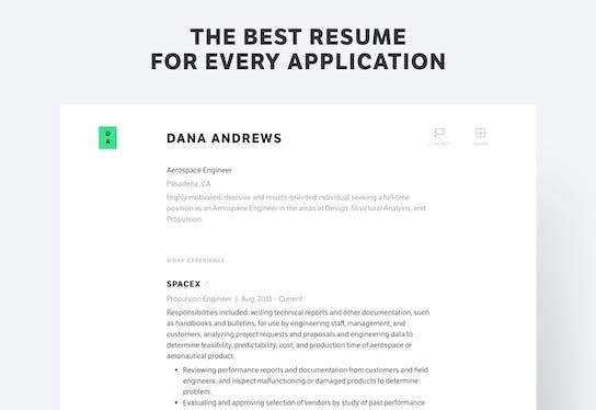 standard resume pro product hunt