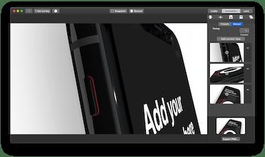 Design Camera - Drag and drop 3D mockups | Product Hunt