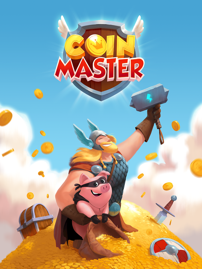 Coin Master - Join the Vikings and reclaim your coins
