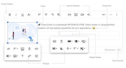 Froala WYSIWYG Editor V3 - The next generation WYSIWYG HTML editor