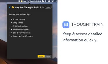 Thought Train 2 - Stop using Sticky Notes, this is your new