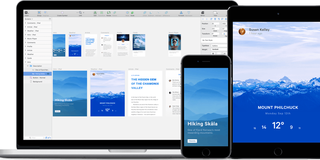 Sketch Mirror 2 0 - Preview your Sketch designs on your iOS