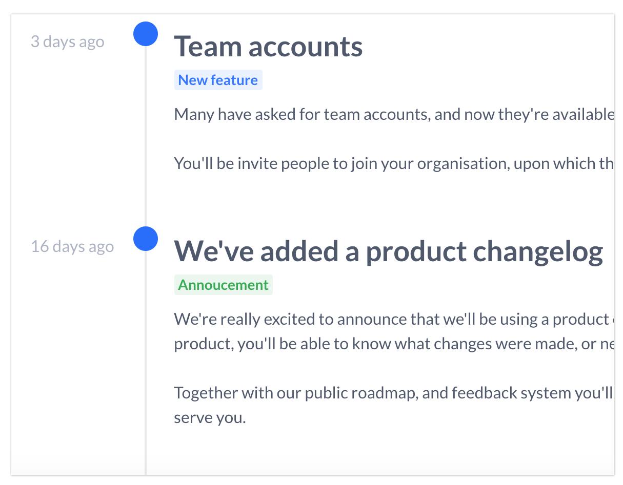 Makerkit - Customer feedback, public roadmap & product changelog