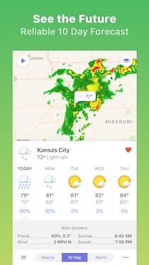 Weather Atlas Product Hunt - 5 day forecast kansas city