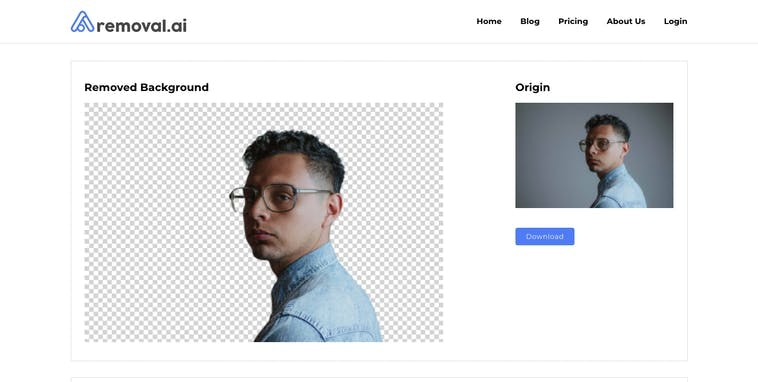 Removal.ai Product Hunt Image