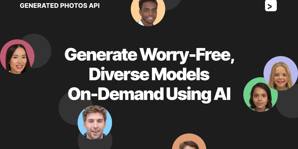 Generated Photos API - Generate worry-free, diverse models on-demand using AI | Product Hunt