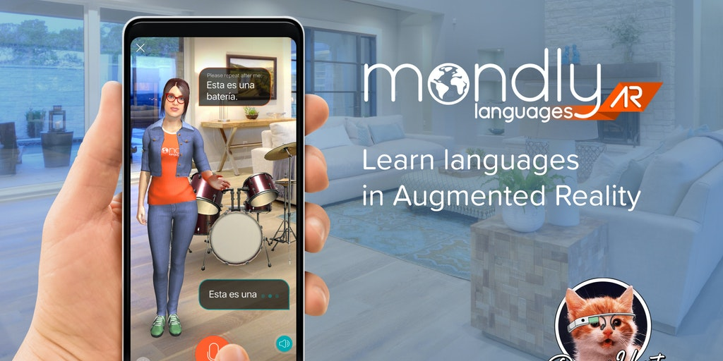 MondlyAR - Learn languages in augmented reality   Product Hunt