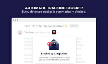 Creep Alert - Check if friends or colleagues track you via