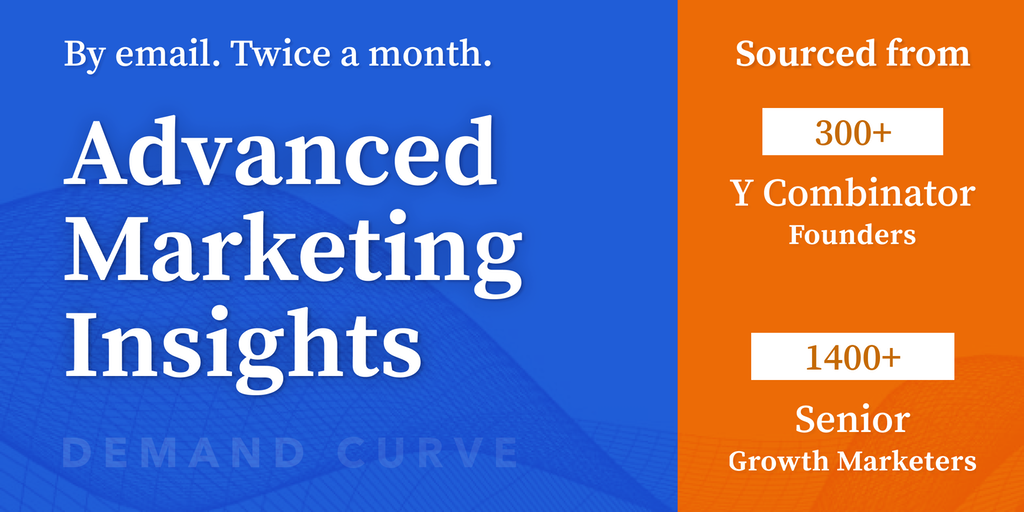 DC Growth Marketing Newsletter - Advanced marketing insights from YC | Product Hunt