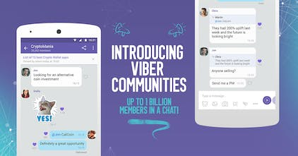 Viber Communities - Group chat with up to 1B members, admin