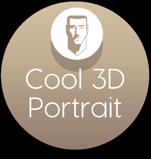 Cool 3D Portrait