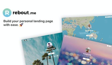 Rebout me - A landing page for your digital identity | Product Hunt