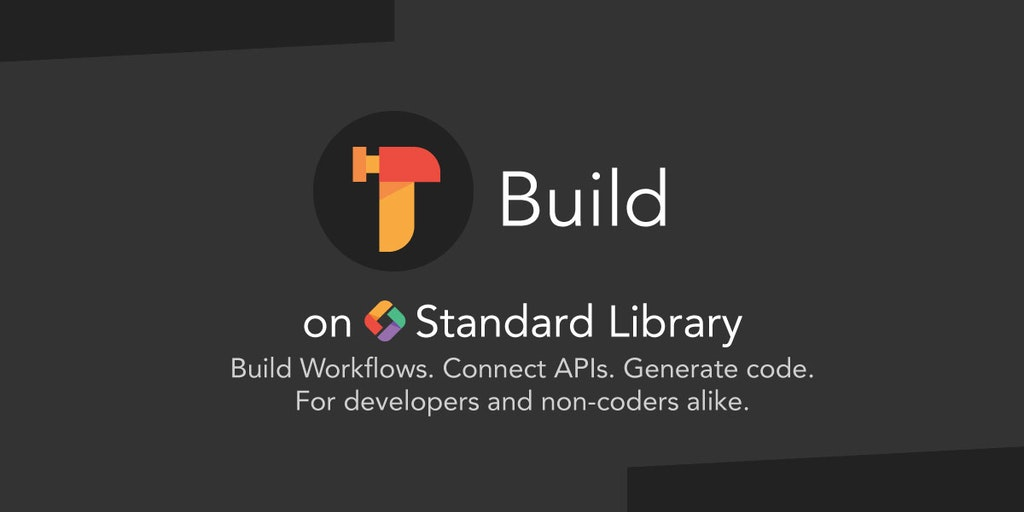 Build on Standard Library - Zapier for Developers — Link Airtable, Stripe, Slack + more | Product Hunt