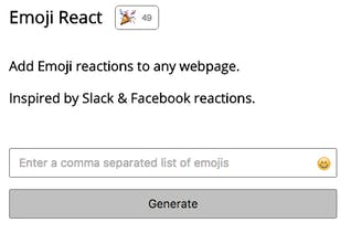 Emoji React - Add Emoji reactions to any webpage | Product Hunt