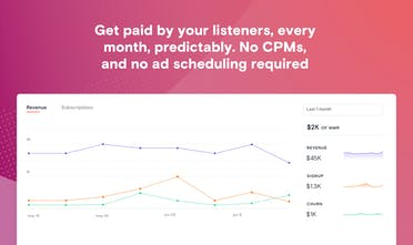 Supercast - Make your podcast a product, not a billboard