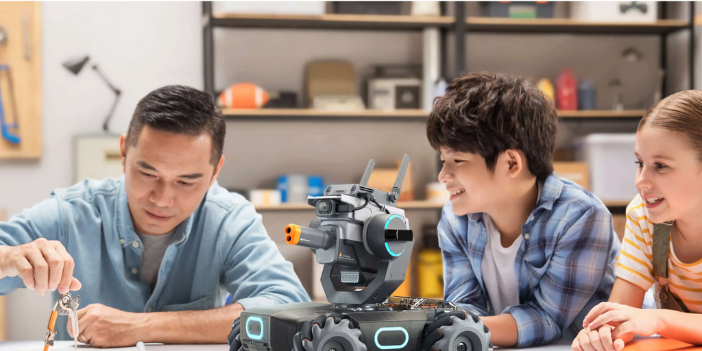 Dji Robomaster S1 An Robot To Teach Kids How To Code By Dji Product Hunt