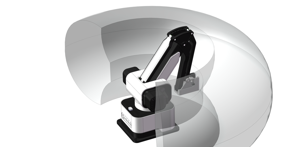 Hexbot Robot Arm - All-in-one robot arm that turns your desktop into a workshop