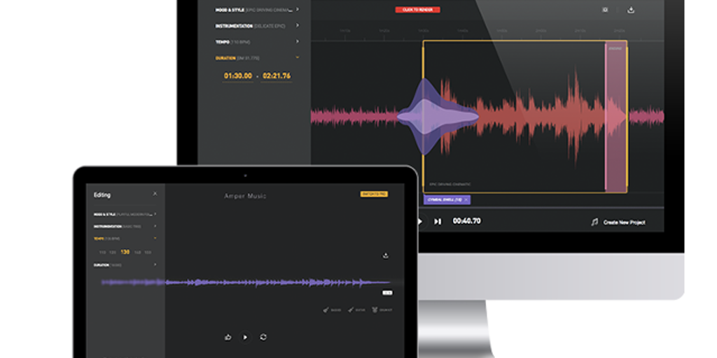 Amper Music - Artificial intelligence music composer | Product Hunt