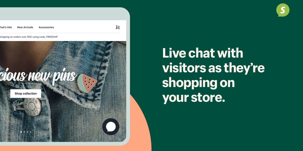 Shopify Chat - Chat live with store visitors Turn visitors into customers | Product Hunt