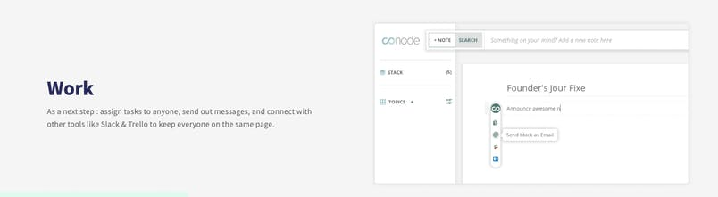 Conode - A simple editor to organize meetings | Product Hunt