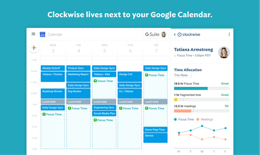 Clockwise - Making your calendar work for you | Product Hunt