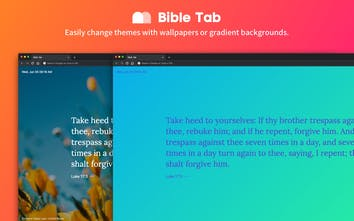Bible Tab v2 - A browser extension that show a Bible verse on new