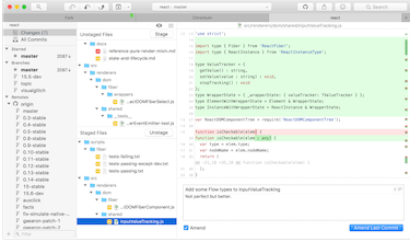 Fork - Fast and friendly git client for Mac and Windows