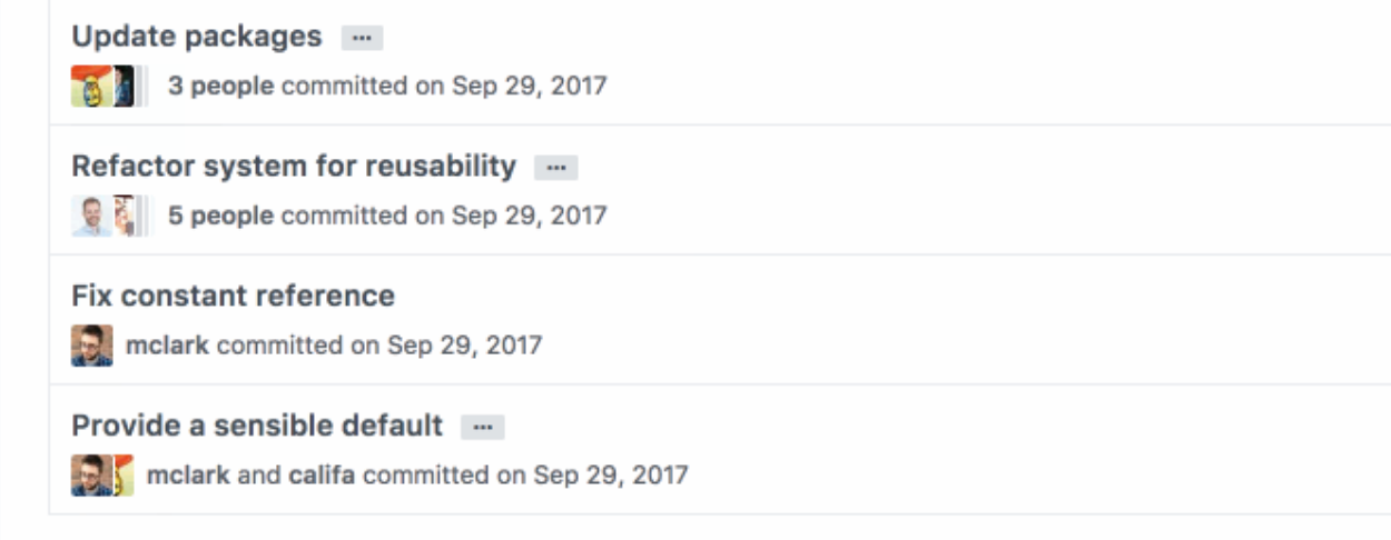 Co-commit - Co-author commits on GitHub when pair programming