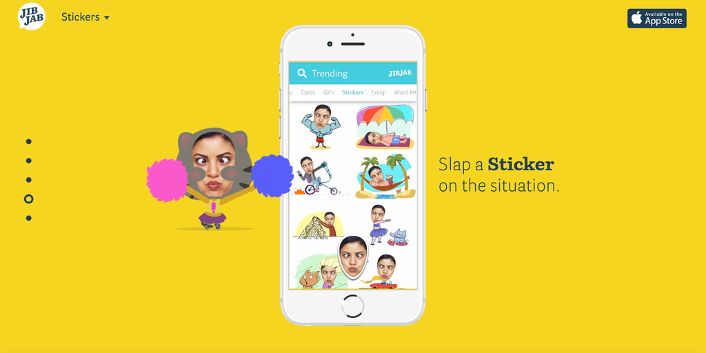 JibJab - Add your self(ie) to hilarious animated GIFs and messages