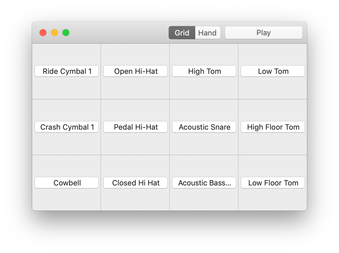 TapPad - Turn your Mac's trackpad into a MIDI drum pad