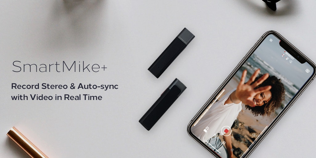 SmartMike+ - Wireless microphone that auto-syncs with video in real-time | Product Hunt