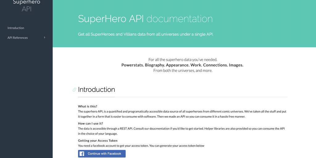 SuperHero API - Get all superhero data from all universes under a single API | Product Hunt